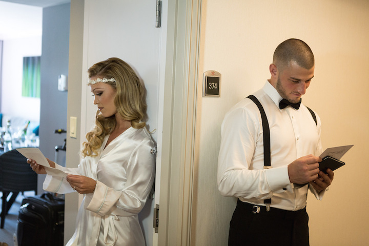 Bride & Groom Receive Unexpected Heartfelt Love Letters Before